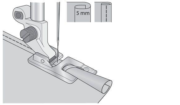 Лапка Husqvarna для узкой подрубки 5 мм