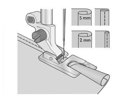 Лапка Husqvarna для узкой подрубки 2 мм