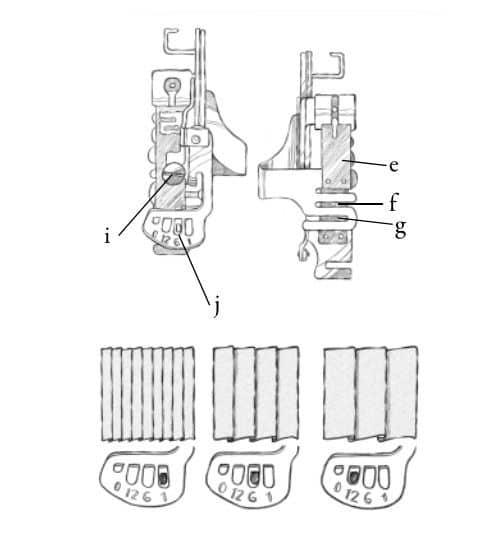 Лапка Husqvarna приспособление для складок