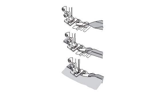 Лапка Husqvarna для окантовки косой бейкой 6 мм