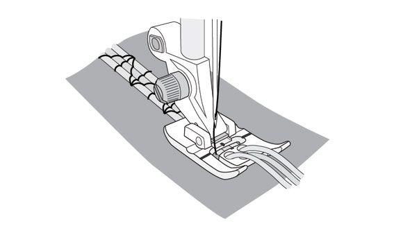 Лапка Husqvarna для 3х шнуров